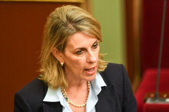 Opposition health spokeswoman Georgie Crozier said the government was being 'held to ransom'.