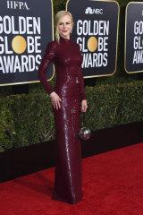 Kidman at the Golden Globes on January 6.