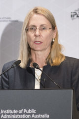 Industry Department chief Heather Smith.