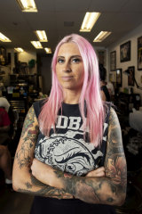 Jess Buxton says an increase in the number of Australians who are getting tattoos is likely because of changing social norms.