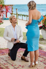 Sam proposed to Tara on the finale of Bachelor in Paradise.