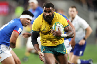 Marika Koroibete has re-signed with the Melbourne Rebels and Australian rugby.