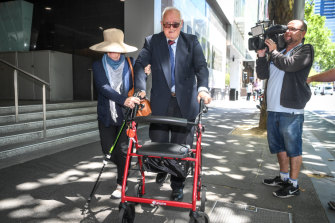 Dr Con Kyriacou leaving court in January