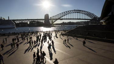 Mid-winter in Sydney: more records set to fall.