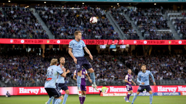 Cream rises: Brandon O'Neill has been named Sydney FC's A-League player of the year.