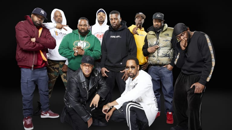 Wu-Tang Clan perform at the Sydney Opera House this week.