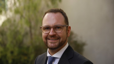 New Liberal senator Andrew Bragg worked in the financial services industry.