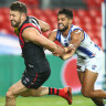 As it happened: Essendon Bombers, Melbourne Demons, West Coast Eagles and Fremantle Dockers score wins in round six