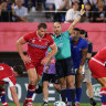 Six-try Samoa exploit tired Russians as three players sin-binned