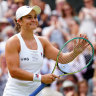 Confident Barty steps up when it matters to continue charge to Wimbledon title
