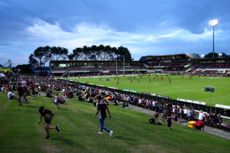 The Sea Eagles are calling for money to redevelop their home ground.