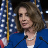Distorted video of Nancy Pelosi edited to sound drunk spreading across social media