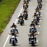 Outlaw motorcycle gangs most active in Queensland and NSW