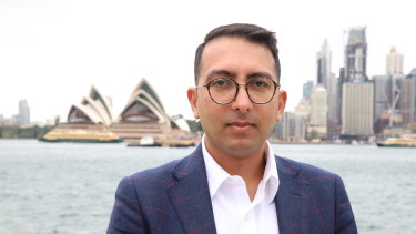 Ophthalmology registrar Joobin Hooshmand, who works with NSW Health, helped co-ordinate the open letter project.
