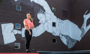 VU students like Alice Growden study one subject at a time for an intensive four weeks.
