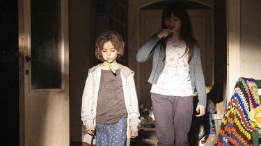 Alessandro Pecorella and Giulia Dragotto in the new Sky Italia pandemic thriller Anna.