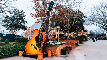 The Grand Ole Opry is one of Nashville's most famous music venues since it was founded in 1925.
