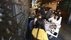 The Tawla restaurant in the Mission District of San Francisco is taking part in the Refugee Food Festival.