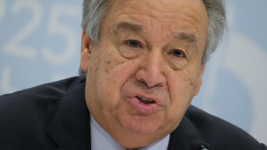 UN Secretary-General Antonio Guterres issued a sober warning in Madrid which other nations are taking seriously.