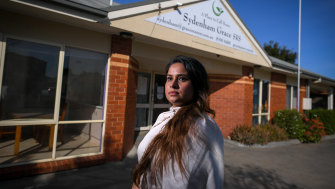 Parvinder Kaur is the manager of supported residential services Sydenham Grace and Meadowbrook