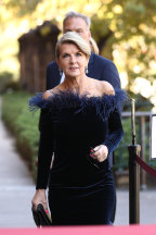 Julie Bishop was among the dignitaries dressed in Zampatti's designs.