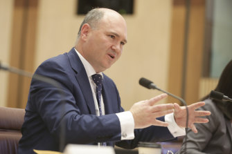 Infrastructure Department Secretary Simon Atkinson told Senate estimates he made a mistake in his timelines during a previous hearing.
