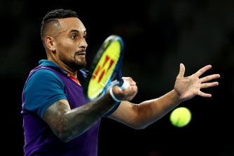 Nick Kyrgios is on course to compete at the Olympics.