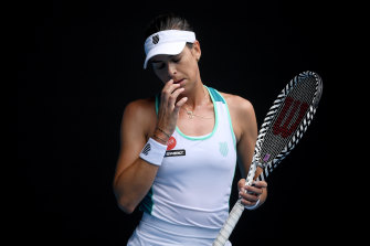 Ajla Tomljanovic caused an upset in the first round but was beaten by a lower-ranked opponent in the second.
