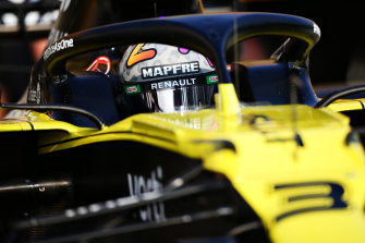 Daniel Ricciardo said he drove his best lap during qualifying for Imola.