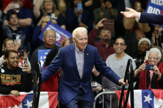 The strong result keeps Joe Biden's hopes alive of winning the Democratic presidential nomination.