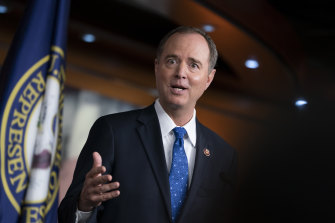 House Intelligence Committee chairman Adam Schiff.