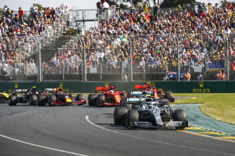 The Melbourne F1 GP was cancelled due to the coronavirus pandemic.