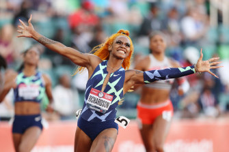 Sha'Carri Richardson will miss the Tokyo Olympics later this month.
