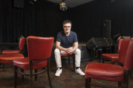 Maurice Manno, co-owner of The Grace Darling Hotel, pictured in the venue last year.