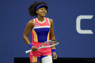 Home front .... Naomi Osaka won the US Open in 2018 and 2020.