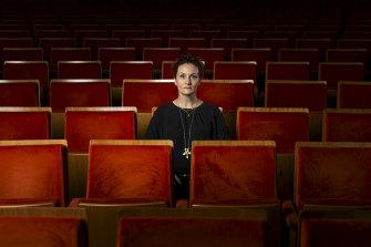 Claire Spencer, CEO of Arts Centre Melbourne, in Hamer Hall, Melbourne.