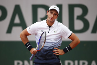 Elliot Benchetrit lost his first-round match to a COVID-positive competitor.