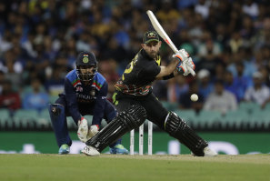 Glenn Maxwell is partial to a reverse sweep as part of his arsenal of shots.