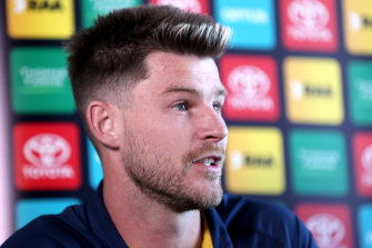 Bryce Gibbs announced his retirement to the media on Thursday.