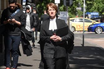 Dirctor of Public Prosecutions Kerri Judd