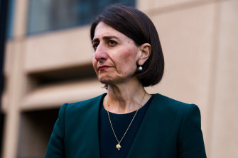NSW Premier Gladys Berejiklian says she has done nothing wrong.