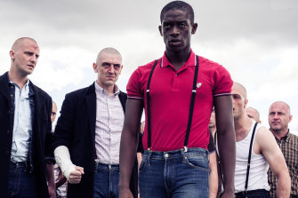 Life outside the house is a battlefield for Eni, played as a young man by Damson Idris.