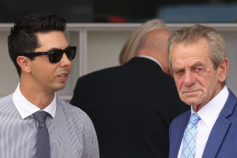 Gerald Ryan and Sterling Alexiou have Bitcoin Baby in at Randwick.