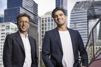 Afterpay co-founders Anthony Eisen and Nick Molnar.