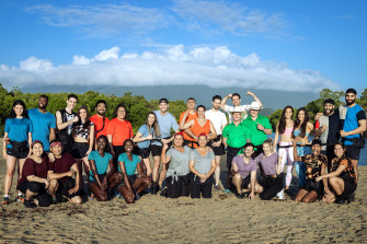 The cast of Network Ten's 2021 season of The Amazing Race.