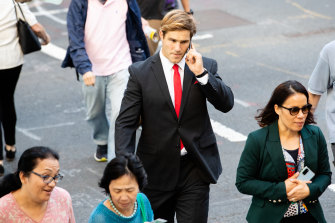 St George Illawarra player Jack de Belin is facing trial over allegations of aggravated sexual assault.