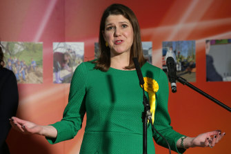 Liberal Democrats leader Jo Swinson lost by only 149 votes.
