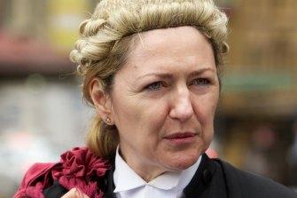 Former Crown Prosecutor Margaret Cunneen.