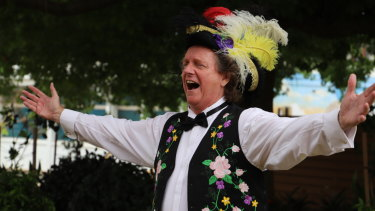 Toowoomba Region Town Crier Kevin Howarth is the fourth best town crier in the world.