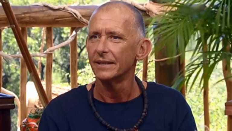 Comedian Peter Rowsthorn was the 8th celeb voted off I'm a Celebrity.